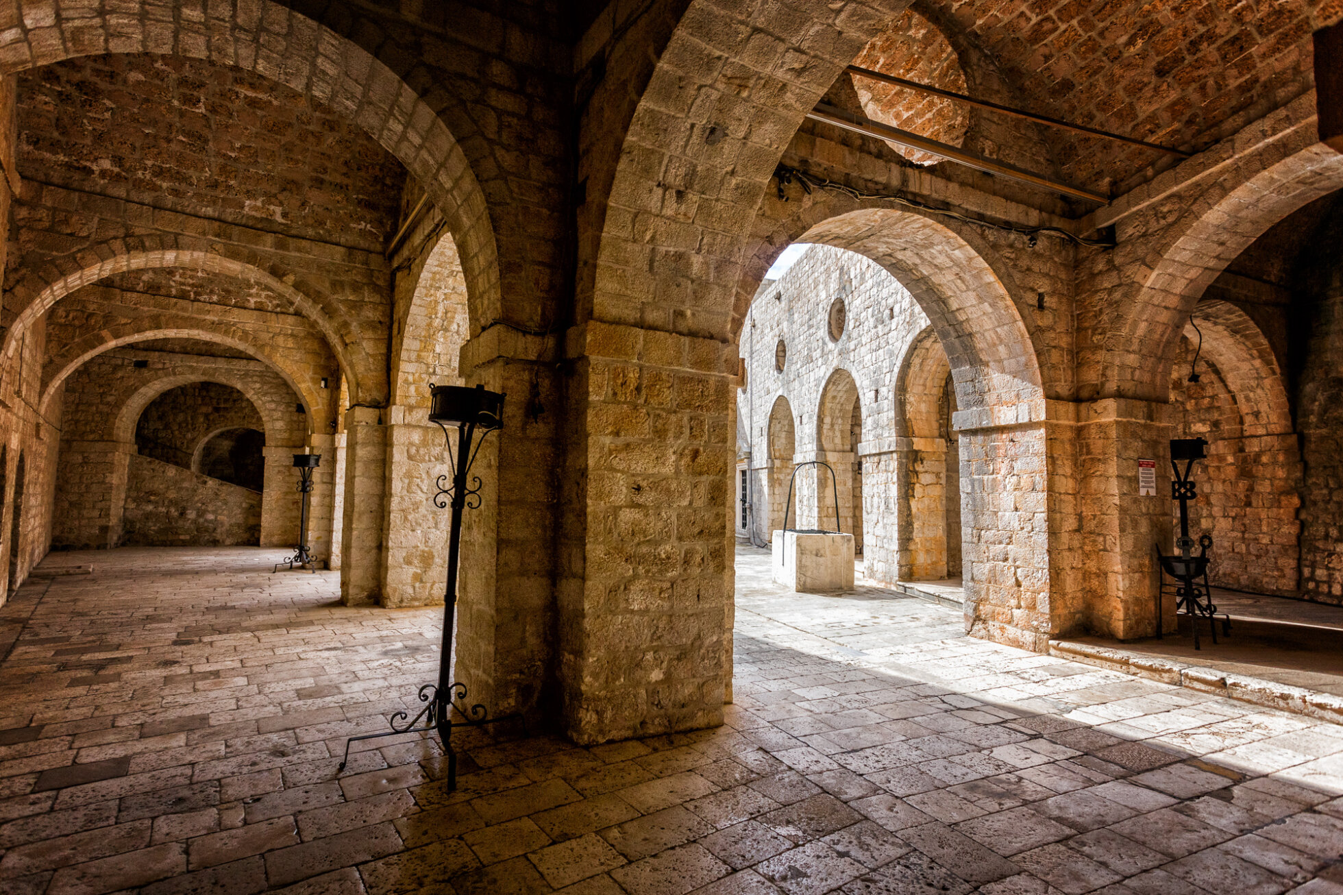Red Keep Interior in King's Landing - Dubrovnik (original location: Lovrijenac castle)