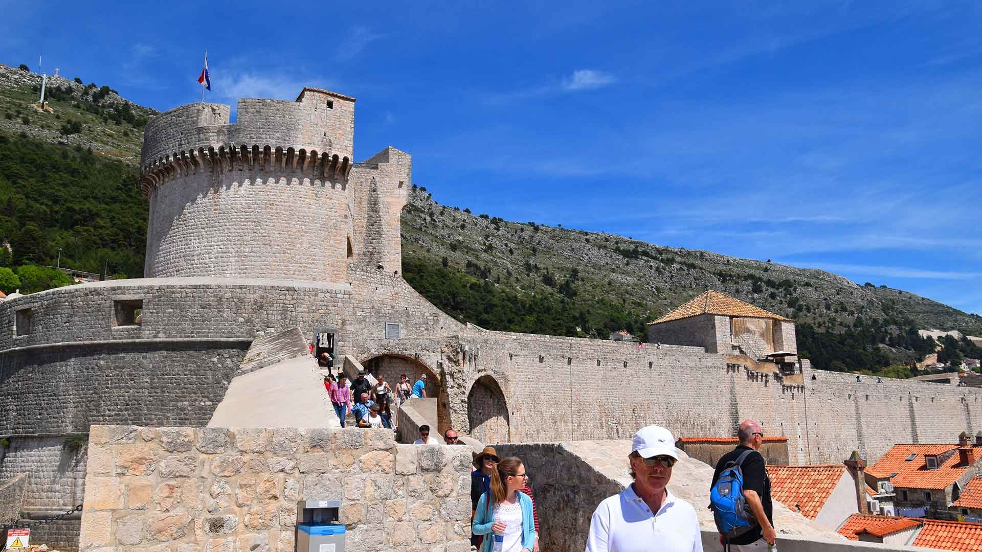 Great walls of Dubrovnik